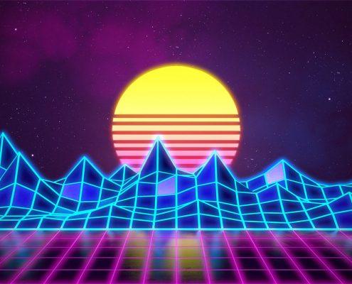 synthwave_label_effeuillage